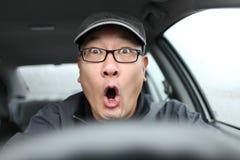 Conducción asustada Foto de archivo libre de regalías