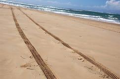 Conducción australiana de la playa Foto de archivo