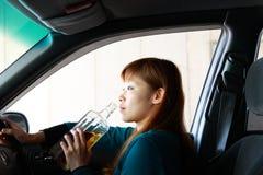 Conducción borracha Foto de archivo libre de regalías