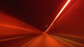 Conducción con la falta de definición y el resplandor del túnel