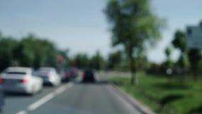 Conducción de automóviles en la carretera metrajes