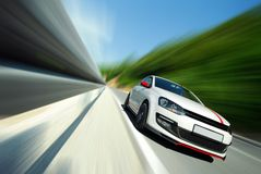 Conducción de demasiado rápido Foto de archivo