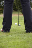 Conducción de la pelota de golf 01 Fotografía de archivo