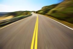 Conducción de la velocidad de Hight Fotos de archivo