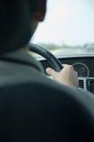 Conducción de la velocidad (Nissan) Foto de archivo libre de regalías