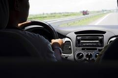 Conducción de un coche Imagen de archivo