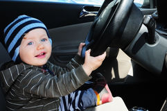 Conducción del bebé imagenes de archivo