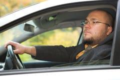 Conducción del coche Fotografía de archivo libre de regalías