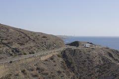 Conducción del GC-500, Gran Canaria Fotos de archivo