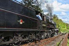 Conducción del tren Imagenes de archivo