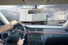 Conducción en coche Viaje de negocios Fotografía de archivo
