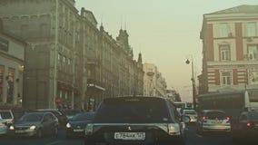 Conducción en la calle Svetlanskaya