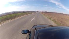 Conducción en la carretera almacen de video