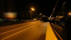 Conducción en la ciudad de la noche metrajes