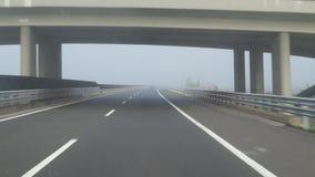 Conducción en niebla metrajes