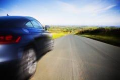 Conducción a la velocidad Foto de archivo libre de regalías