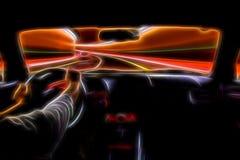 Conducción rápida stock de ilustración