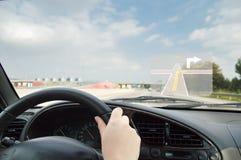 Conducción segura Imagen de archivo libre de regalías