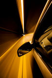 Conducción a través del túnel Fotografía de archivo