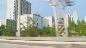 Conduciendo el pasado Miami céntrica metrajes