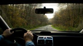 Conduco la mia automobile Fotografia Stock Libera da Diritti