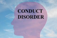 Conduct Disorder concept Royalty Free Stock Photos