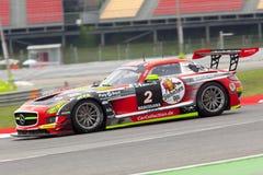 Conducteur Christian BRACKE Team Car Collection Motorsport Photographie stock libre de droits