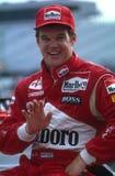 Conducteur d'Al Unser Jr Indy Car image stock