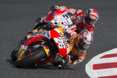 Conducteur Dani Pedrosa ÉQUIPE DE REPSOL HONDA Photo stock