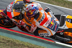 Conducteur Dani Pedrosa ÉQUIPE DE REPSOL HONDA Photo libre de droits