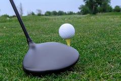 Conducteur de golf Photos libres de droits