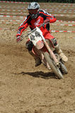 Conducteur de motocross Photo libre de droits