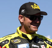 Conducteur de tasse de sprint de Clint Bowyer NASCAR images libres de droits