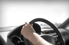 Conducteur de voiture image libre de droits