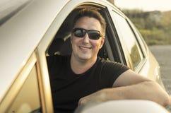 Conducteur de voiture photo libre de droits
