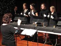 Conducteur et choeur de la TA Vernon Bell images stock