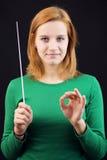 Conducteur femelle photographie stock