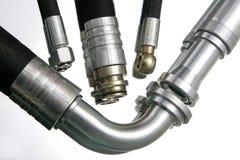 Conducteur hydraulique différent Image libre de droits