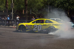 Conducteur Matt Kenseth de chasse de tasse de sprint de NASCAR Images libres de droits