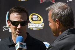 Conducteur Matt Kenseth de chasse de tasse de sprint de NASCAR Image libre de droits