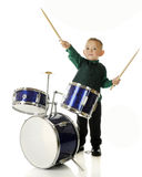 Conducting Drummer Stock Photo