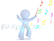 Conducting Music Royalty Free Stock Photos