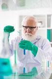 Conducting research stock images