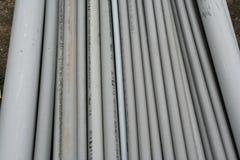 Conducto 2 del PVC imágenes de archivo libres de regalías