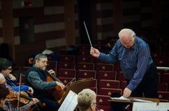 Conductor Imagen de archivo libre de regalías
