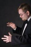 Conductor foto de archivo libre de regalías