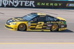 Conductor Brad Keselowski de la taza de la energía NASCAR del monstruo Imagen de archivo libre de regalías