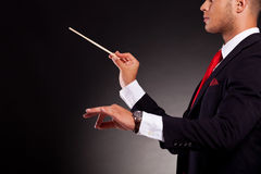 Conductor business man Stock Photography