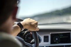 Conductor de coche Fotografía de archivo