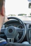 Conductor de coche Foto de archivo libre de regalías